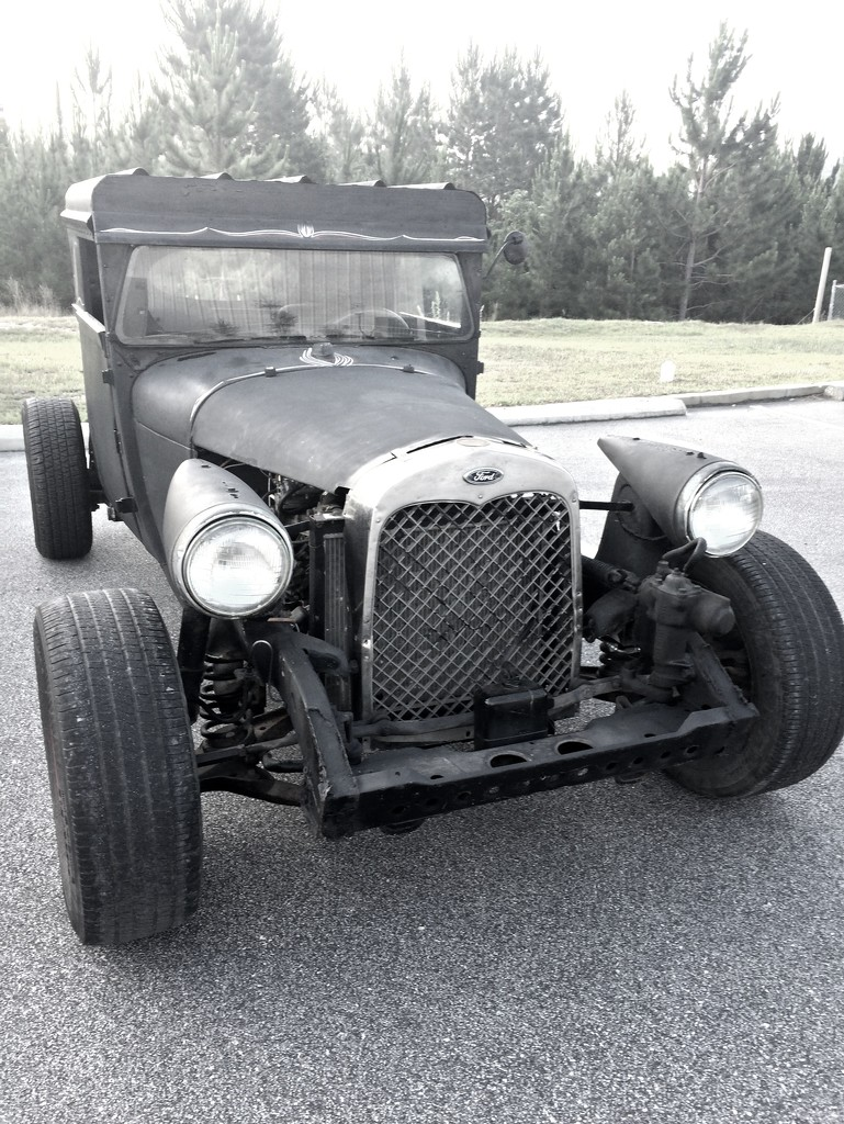 Justin's old Ford by homeschoolmom