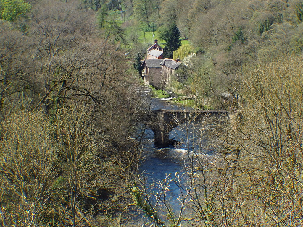 Taken from the Pontcysyllte Aquaduct , which is part of the Ellesmere Canel Thomas Telford was the Engineer 1757 - 1834 by Dawn