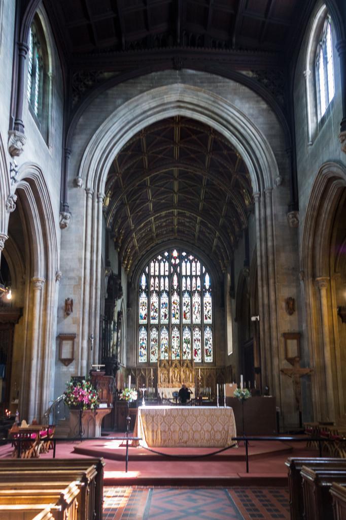 The chancel and high altar by rumpelstiltskin