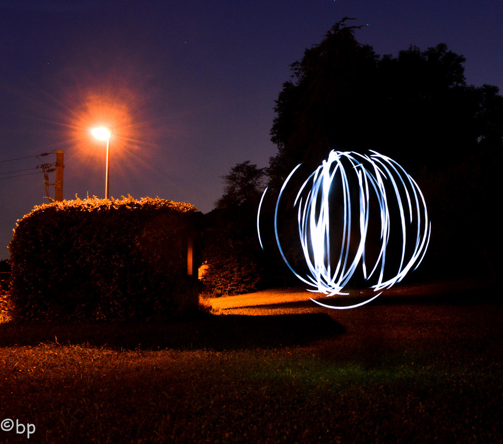 There is an UFO in the garden! by caterina