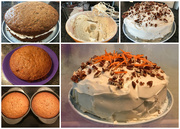 12th Jun 2018 - Baking a Carrot Cake