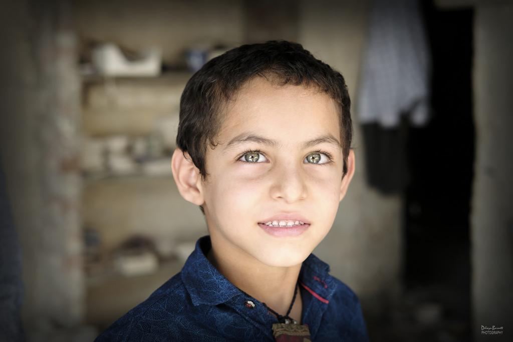 Portrait of a boy by dkbarnett
