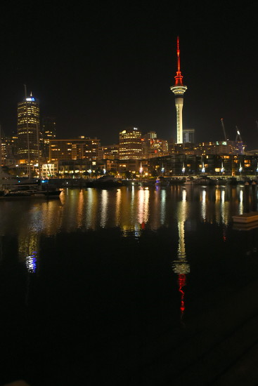 Sky Tower Reflection by nickspicsnz
