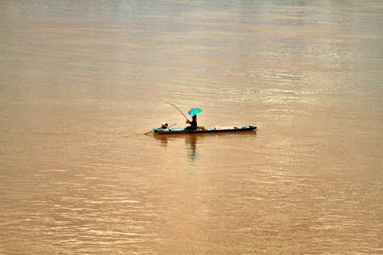 Fishing on the Mekong River by leananiemand