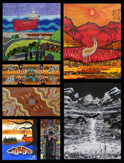 Hospital Aboriginal Art 2 by onewing