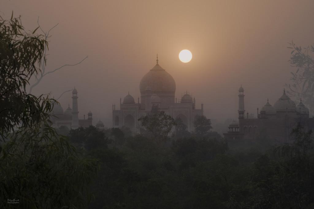 Taj Mahal from our hotel by dkbarnett
