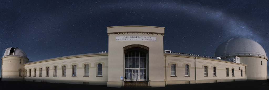 Lick Observatory by mikegifford