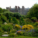 The walled garden at Croft Castle ...