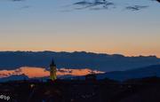 18th Jun 2018 - The bellower of San Zeno at sunset