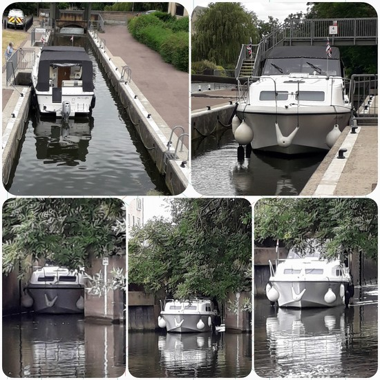 Going through the lock by mave