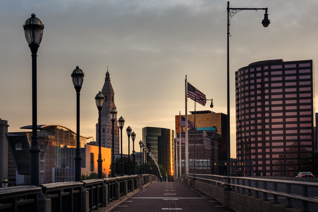 Dusk, Downtown by batfish