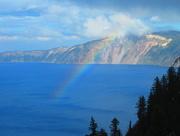 8th Jun 2018 - Rainbow Over Crater Lake