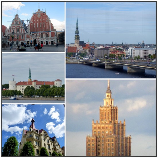 Styles of Architecture in Riga by foxes37