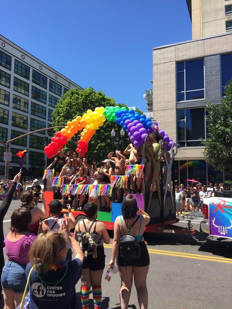 Proud at Pride in Portland by bilbaroo