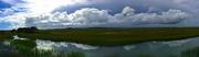 21st Jun 2018 - Folly Beach marsh and sky, South Carolina