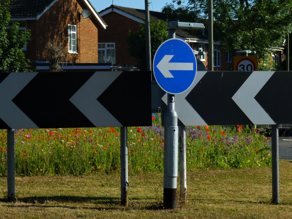 Signs of a Roundabout Sanctuary by 30pics4jackiesdiamond