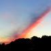 Streaked sunset