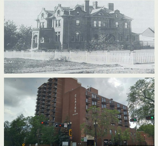 Life in The Neighbourhood.   Then and Now by bkbinthecity