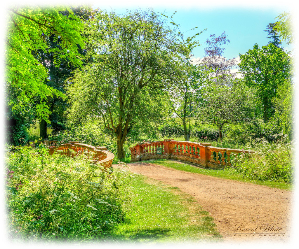 The Bridge,Castle Ashby Gardens by carolmw