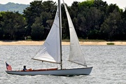 24th Jun 2018 - A friend of my husband's out sailing.