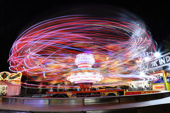 A night at the funfair by spectrum