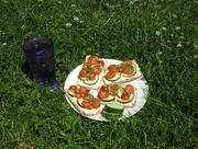 22nd Jun 2018 - Lunch outdoors