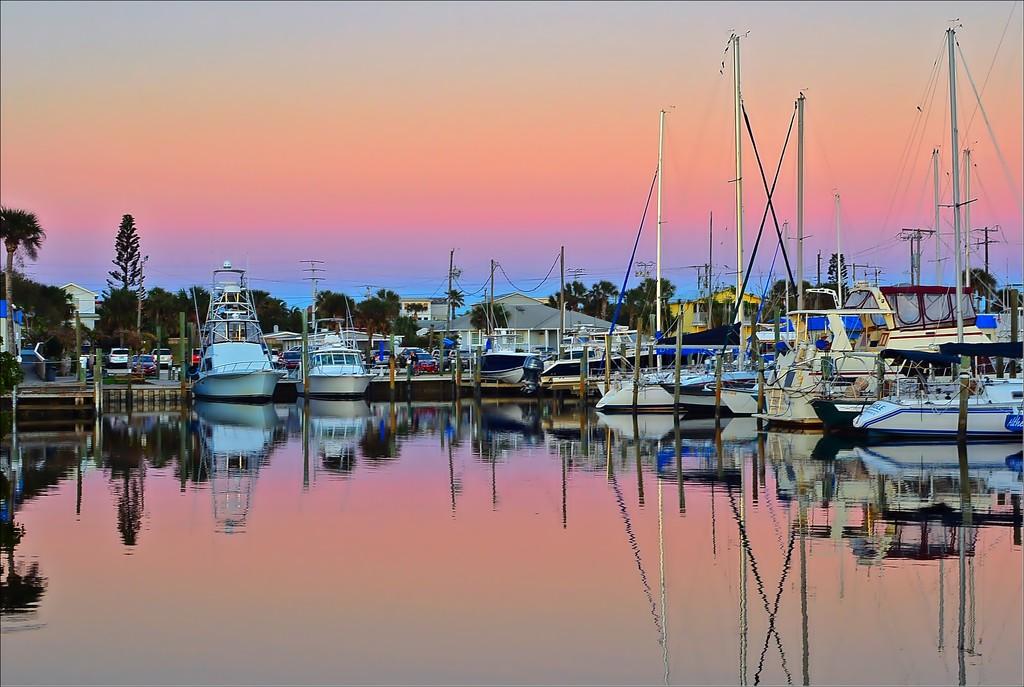 Marina Sunset by soboy5