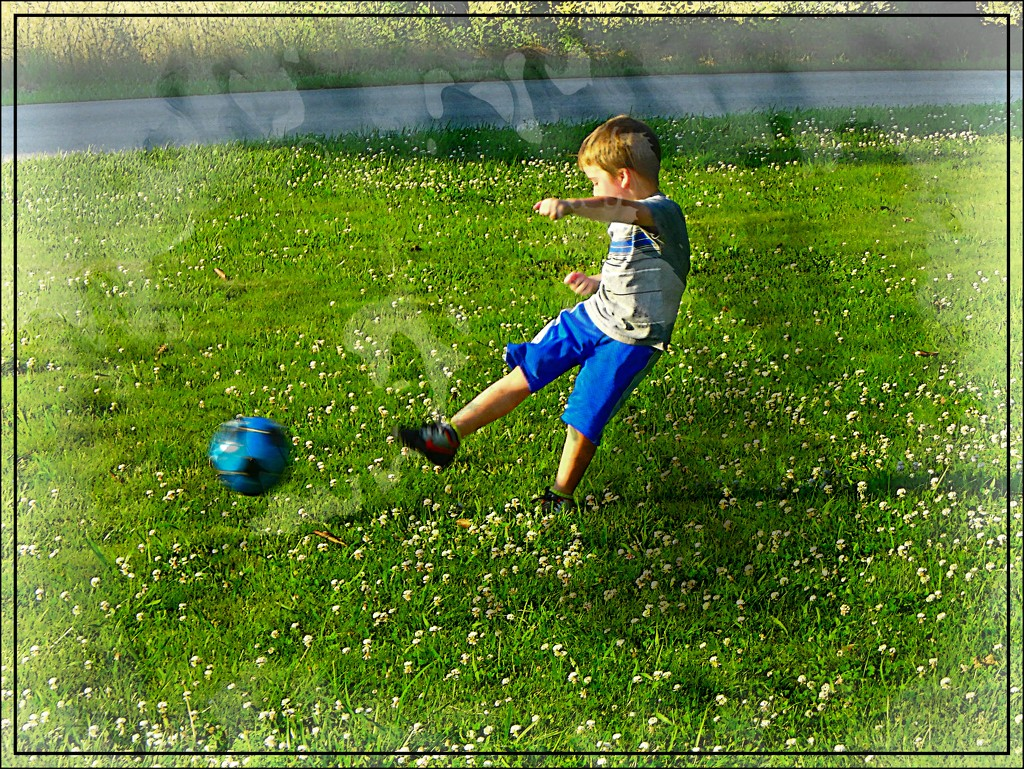 Soccer Player in the Making by olivetreeann