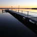 Our Jetty at Dawn by terryliv