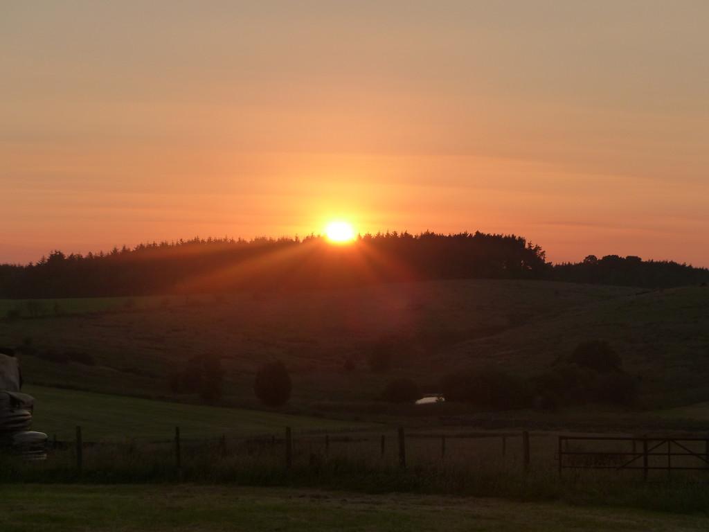 Sunset by shirleybankfarm