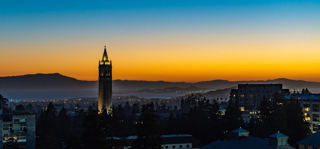 Across the Berkeley Hills by taffy