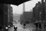 29th May 2018 - View of Tate Modern in rain