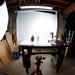 Behind the scenes, through a fish eye lens by batfish