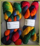 6th Jul 2018 - Some of the beautiful colured home dyed wools