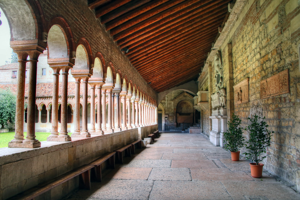Cloister  by megpicatilly