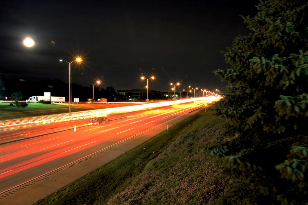 Highway Lights by randy23