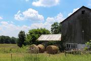 6th Jul 2018 - Bales of hay and a barn