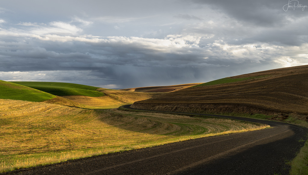 Follow the Curve To the Storm  by jgpittenger