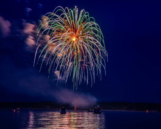 (More) Beaver Island Fireworks by taffy