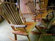 10th Jul 2018 - Locally made Rocking  Chairs  in a shop  Maleny