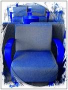 9th Jul 2018 - Blue Chair Blues