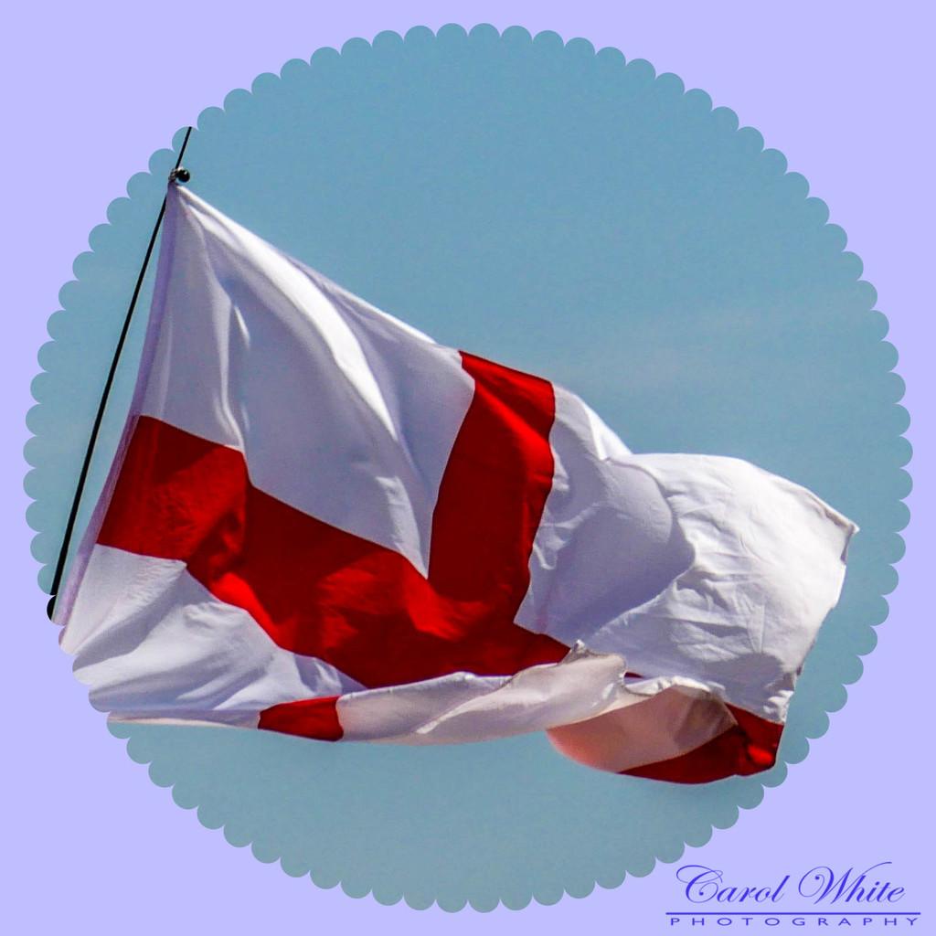 C'Mon England by carolmw