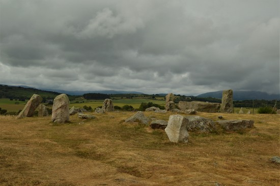 Tomnaverie Stone Circle by gemmabrowne