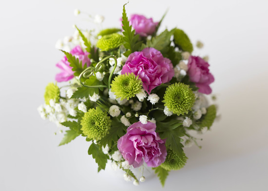 Creating wedding flowers by nicolecampbell