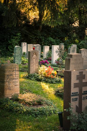 Evening Walk in Obermenzing Friedhof by jyokota