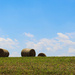 Some hay bales