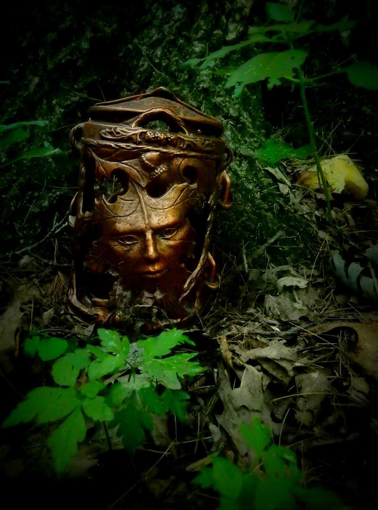 green man lantern by mcsiegle