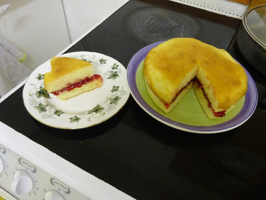 gluten free victoria sponge mix  by anniesue