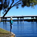 My Grand-daughter on the banks of the Maroochy River