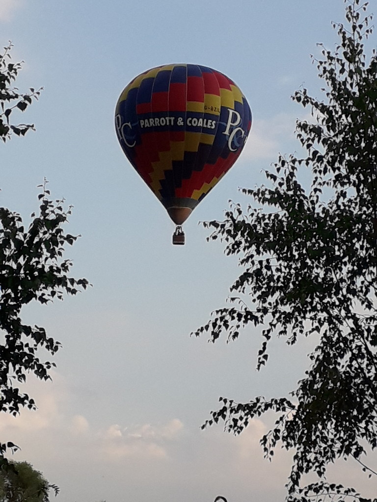 A balloon over the barbie by mave